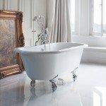 vrijstaand bad - bad op pootjes - losstaand bad