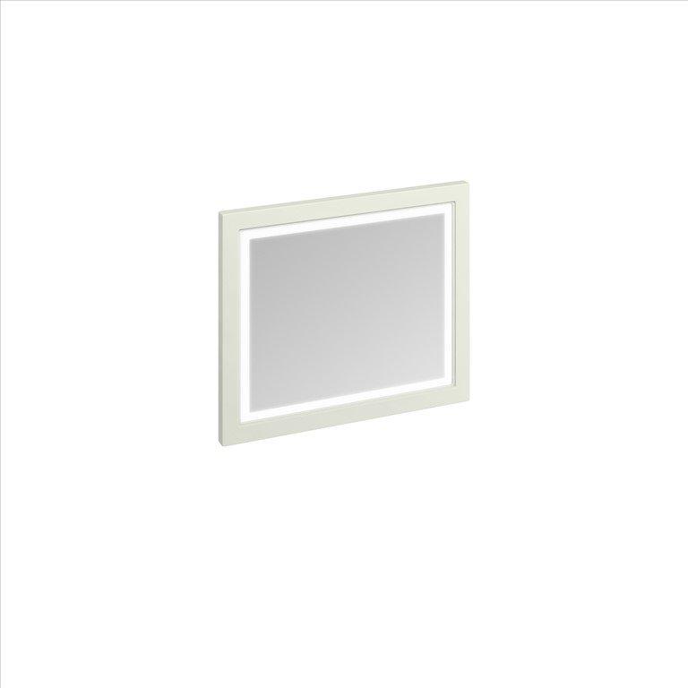 Spiegel met ledverlichting 90cm klassieke badkamers for Spiegel your name