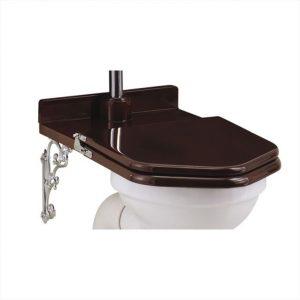 landelijke toiletten - landelijke wc - retro toilet- toiletbril