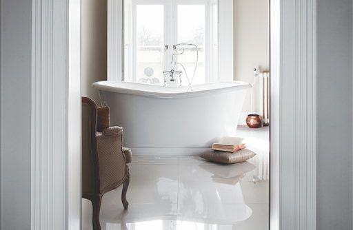 vrijstaand bad - retro bad - landelijk bad